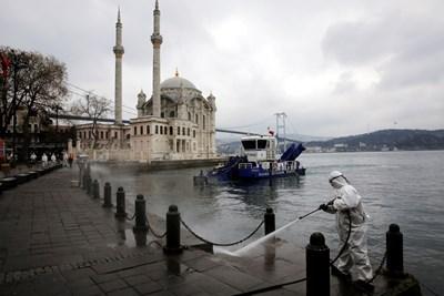 Началото на туристическия сезон в Турция вероятно ще бъде отложено за май СНИМКА: Ройтерс