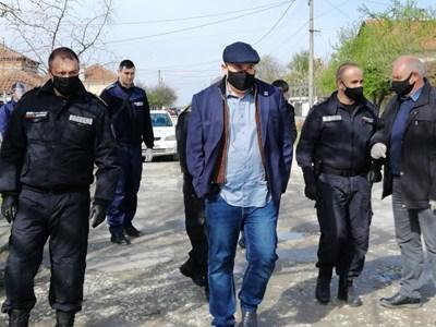 """Иван Гешев се срещна с хората в Трилистник. Снимка: """"Марица"""""""