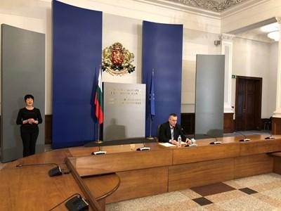 Доц. Димо Димов СНИМКИ: Министерски съвет