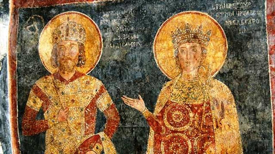 Резултат с изображение за Мария Лакапина и българския цар Петър I.
