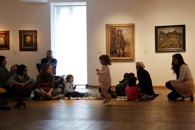 """В """"Квадрат 500"""" дечицата ще могат да се потопят в истории, вдъхновени от произведенията на изкуството."""