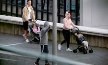 Кристиано Роналдо наруши карантината! Разходи децата с Джорджина