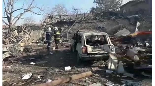 Eксперт: Взривът в Хитрино е в резултат на  концентрация на газ или частици