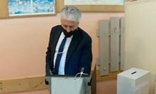 Вътрешният министър: Гласувах за промяна