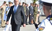 Защо турският капитан не отдаде чест на Румен Радев