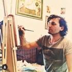Иван Юруков понякога рисувал по време на карантината.