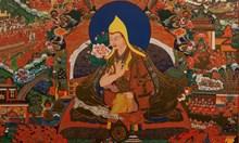 Регент държи 16 г. в тайна смъртта на 5-ия Далай Лама. Използвал двойник на официални церемонии, пророк в транс разкрива измамата