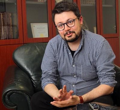 Павел Кунчев СНИМКА: РУМЯНА ТОНЕВА