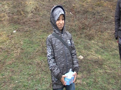 9-годишният Фирас Зеят е в трети клас и е отличник.