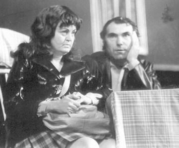 Григор Вачков заедно с Татяна Лолова в пиесата