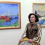 Бившата зам.-шефка на Народното събрание и професор по право Камелия Касабова ще се покаже в нова светлина - на художничка.  СНИМКИ: ВЕЛИСЛАВ НИКОЛОВ