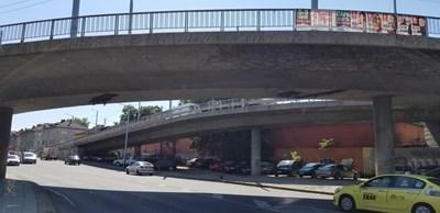 Бетонният мост в Пловдив.