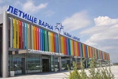 Летище Варна Снимка Архив