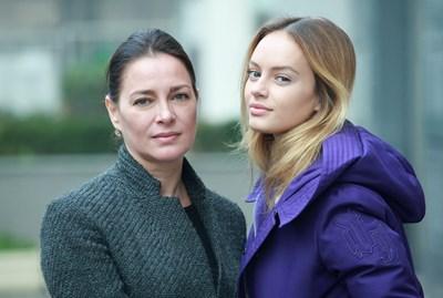 Майка и дъщеря и преди са работили заедно - играли са главните роли в австрийски филм.  СНИМКИ: ЙОРДАН СИМЕОНОВ И ЛИЧЕН АРХИВ