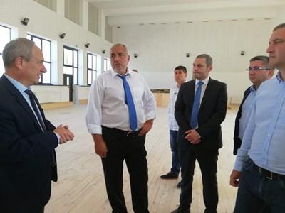 Бойко Борисов в Търговище Снимки: Министерски съвет