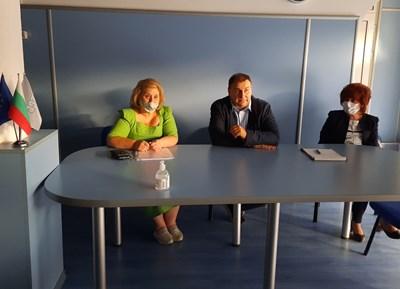 Емил Радев във Варна СНИМКА: ПП ГЕРБ