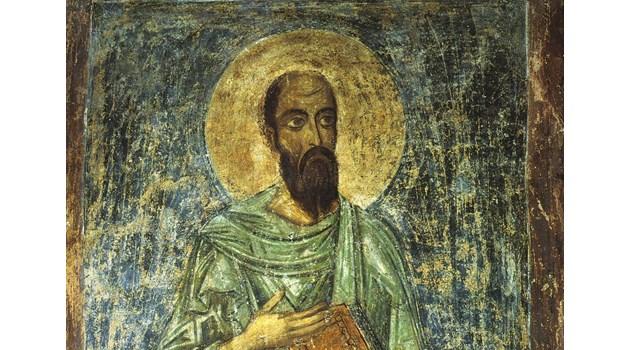 Как Апостол Павел изпрати своя ученик Карп в Розовата долина