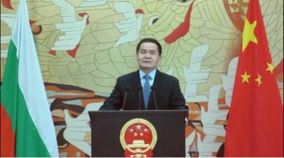Н. Пр. Дун Сяодзюн, посланик на КНР в България