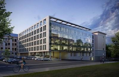 """Така ще изглежда новата сграда на  """"Полиграфия офис център"""""""