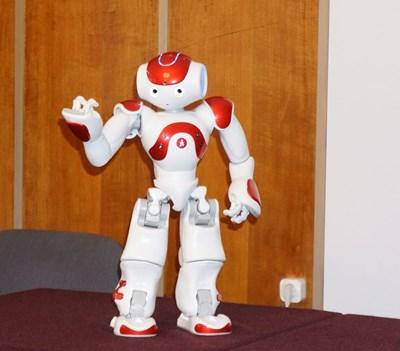 Роботът Роберта може да привлича по-лесно вниманието на деца със специални потребности. СНИМКА: БАН СНИМКА: Бан