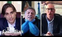 Виж как италиански кметове прибират гневно хората у дома!