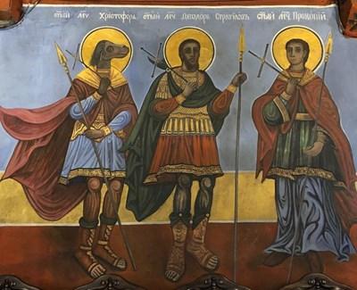 Главата на Св. Христофор Песоглавец се пази в Кремъл, в Европа го почитат като покровител на пътешествениците