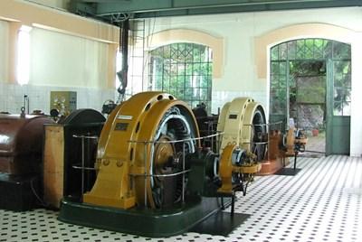 """Изградената от Siemens преди повече от 100 години ВЕЦ """"Царска Бистрица"""" продължава да работи и до днес."""