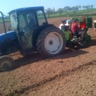 Работници AS Green и Co се трудят на полето преди да стане ясно, че има масово заразяване с коронавирус.