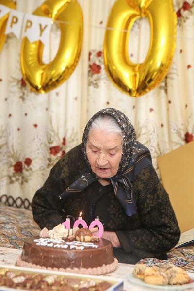 100 г. отпразнува Венета Чавдарова от Марикостиново