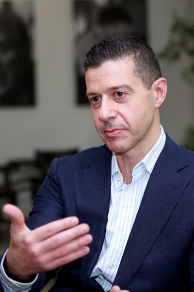 Генералният директор на БНР Андон Балтаков СНИМКИ: АРХИВ
