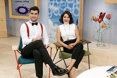 Александър Кадиев и Деси Стоянова СНИМКА: Би Ти Ви