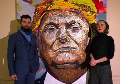 Двама украински творци в изгнание - Дария Марченко и Даниел Диров Снимка: Фейсбук