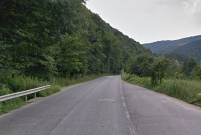 Пътят Юндола - Разлог СНИМКА: Google Street View