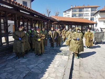 Екипите, които ще извършват тестовете в Банско, вече са готови.