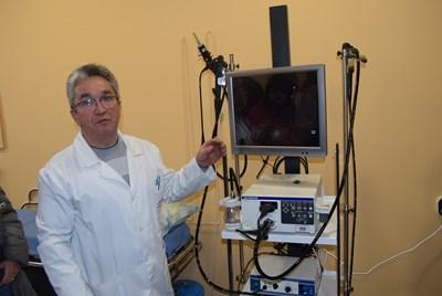Д-р Любомир Костурков представи възможностите на новата болнична апаратура