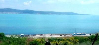 Това лято красивото изумрудено море зарадва туристите.