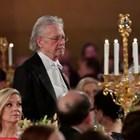 Петер Хандке на приема на нобеловите лауреати  в Стокхолм