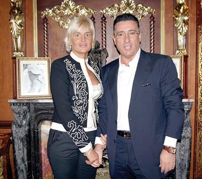 Маринела и Ветко Арабаджиеви преди да бъдат задържани