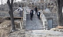 Възстановяват римския път на хълма Бунарджика в Пловдив