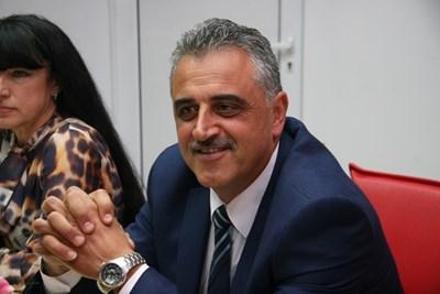 """Димитър Иванов започва третия си мандат като кмет на община """"Марица"""" СНИМКА: Евгени Цветков"""