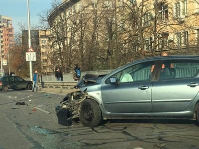 Катастрофата на Герджика стана вчера след обяд. Снимка: 24 часа