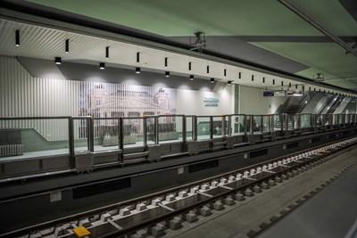 Две от новите 8 метростанции в София.  СНИМКИ: СТОЛИЧНА ОБЩИНА