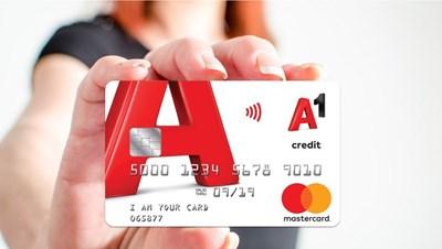 Кредитната карта от А1