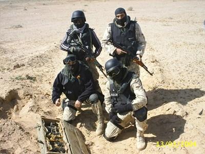 Екипът на старши сержант Иван Михайлов, който решава битката за Кербала.