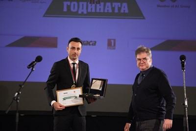 Димитър Бербатов и Борислав Зюмбюлев