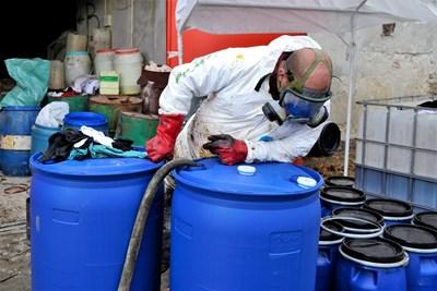 110 т токсични препарати ще бъдат транспортирани в Швейцария СНИМКА: Община Велико Търново