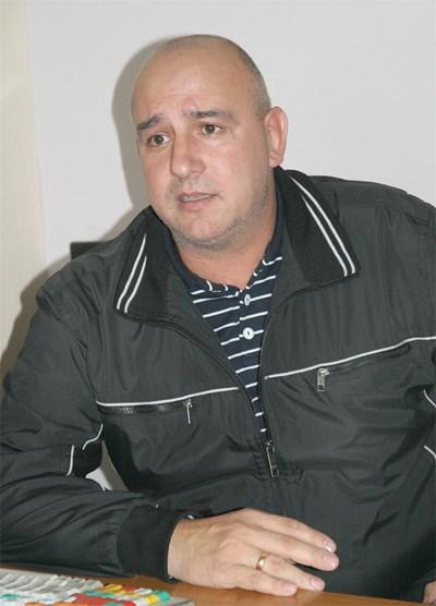 Председателят на Синдиката на служителите на затворите в България Иван Петров СНИМКА: Наташа Манева