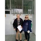 Тони Димитрова зарадва и трогна до сълзи 89-годишния дядо Стоян.