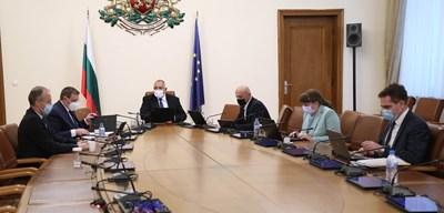 Заседанието на Министерския съвет