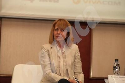 Йорданка Фандъкова  СНИМКА: Николай Литов СНИМКА: 24 часа